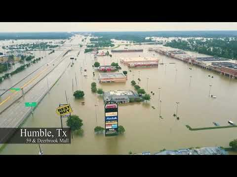 Harvey Sept 2017 Humble Houston Kingwood The Flood Harvey Kingwood San Jacinto