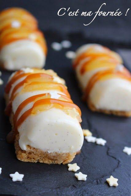 C 39 est ma fourn e mini b ches poires sp culoos caramel recettes sucr es pinterest b ches - Recette de mini dessert gourmand ...