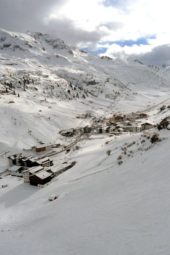 Zurs, Arlberg ski region The Alps Austria photograph picture print by AE Photo