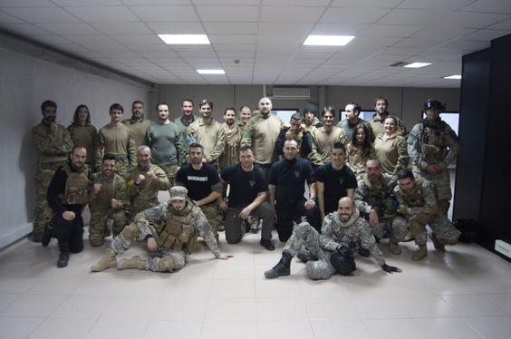 Exitoso seminario piloto Milsim con Krav Maga WorldWide Barcelona, colaborando con nuestro material Magfed, en Carlos Duty