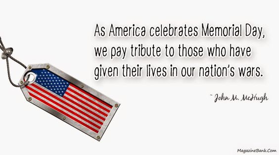 memorial day message employees