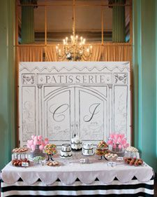 We've rounded up our favorite dessert tables from featured real weddings, including sweets of all sorts on tables of all styles.