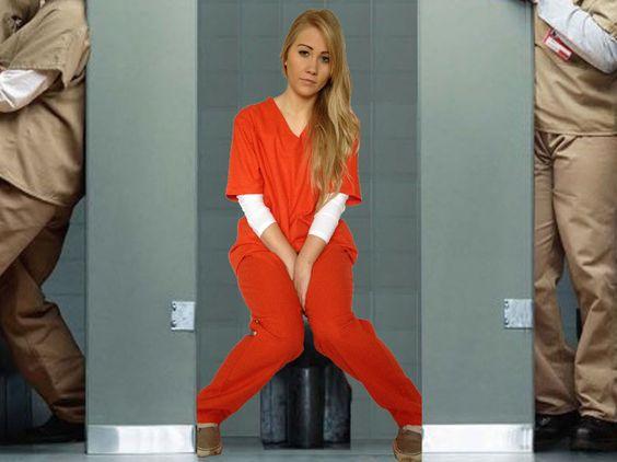Orange is the New Black Costume Prison Suit Piper