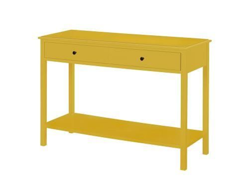 Wyatt Walker Console Hall Table Yellow Console Table Hall