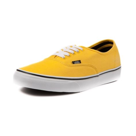 Shop for Vans Authentic Skate Shoe in Yellow at Journeys Shoes ...
