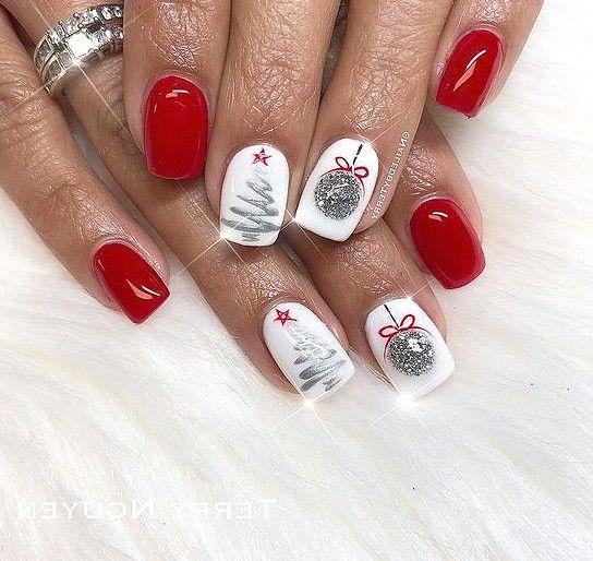 forcreativejuice com christmas gel nails xmas nail art xmas nails christmas gel nails xmas nail art
