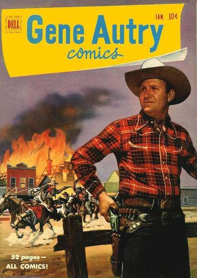 Gene Autry photos | Gene Autry Comics #47 comic books