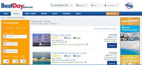 bestday.com.mx ofertas hoteles cancun baratos viajes vacaciones mexico vuelos baratos boletos de avion cancun playa del carmen las vegas des...