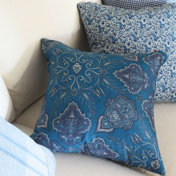 Picture of Liberty Pillow Cover with Copper Zipper
