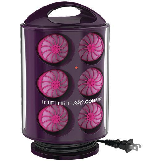 New Conair Infiniti Pro Secret Hair Curl Rollers, Heated Silicone Curlers…