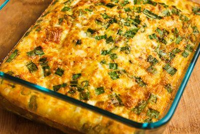 ... Friendly Breakfast Casserole With Mushrooms, Bell Peppers, And Feta