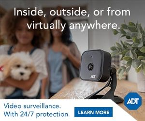 ADT Home Security Cameras 24x7 Monitoring