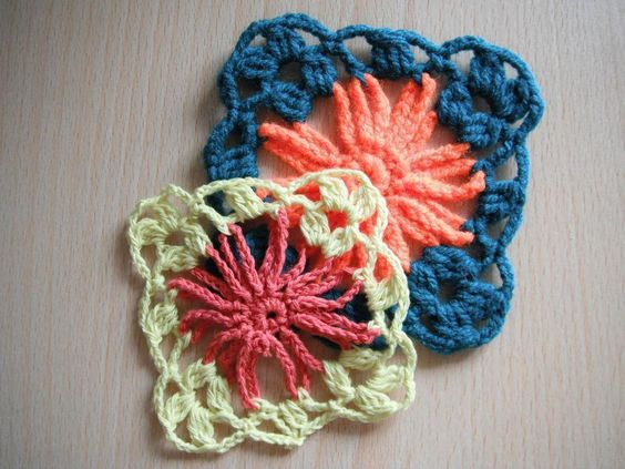 ... App - via @Craftsy Afghan Squares Pinterest Crochet Patterns
