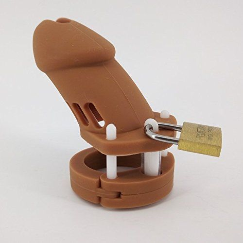 New size on market for Silicone Chastity Cage compare to CB-6000 Long Version Silicone (Brown)