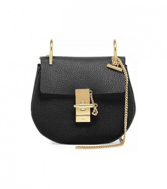 The It-bag of the season // Drew Mini Chain Shoulder Bag by Chloe