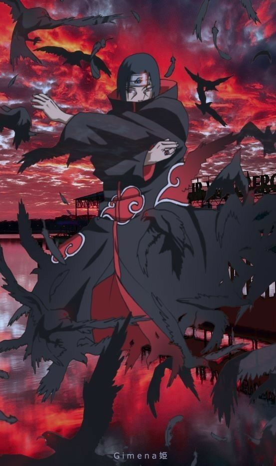 Itachi Uchiha Naruto Shippuden Anime Itachi Uchiha
