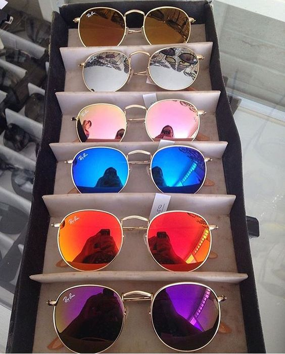 I need all the colors!!! #rayban #roundrayban: