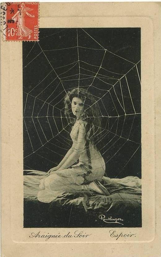 Jeanne Dirys Vintage Postcard Unknown Publisher Reutlinger Photo Vintage Postcard Postcard Photo