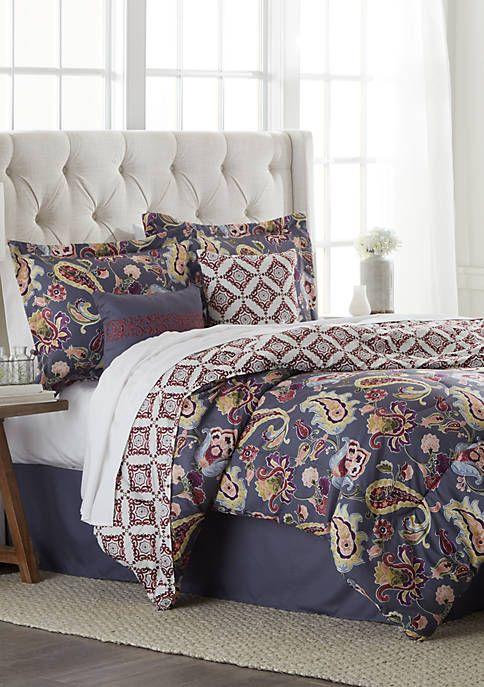 Jasper Reversible 6 Piece Comforter Set In 2020 Comforter Sets