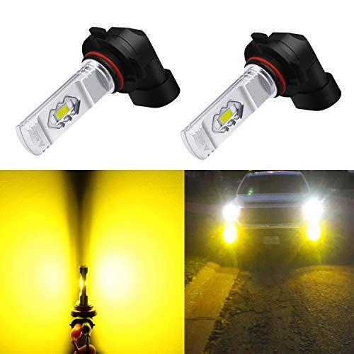 Alla Lighting 3800lm Xtreme Super Bright 9006 Led Bulbs Fog Light High Illumination Eti 56 Smd Led 9006 Bulb Hb4 9006 Fog Lights Lamp Replacement 3000k Amber Led Fog Lights Led Bulb Lamp Light