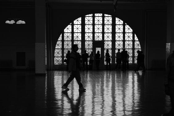 The main hall, Ellis Island