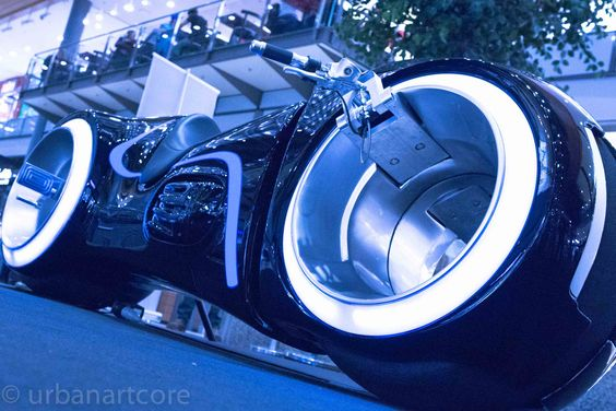 The Bike from TRON (blue) - #allesandere, #Celebrity, #other, #Promi