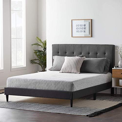 Enjoy Exclusive For Lucid Upholstered Bed Square Tufted Headboard