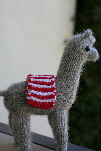 Alpaca Knitting Patterns : Adorable Alpaca pattern by Rachael Faith Alpacas, Pattern library and Llamas