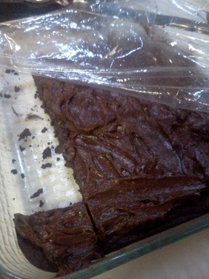 Unsweetened Chocolate Diabetic Brownies
