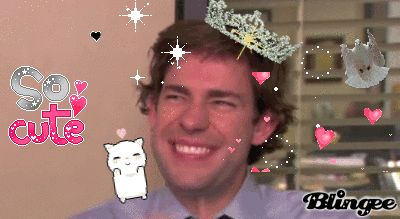 Turns out our sweet Jim Halpert giggles like a fairy princess on the first day of spring.