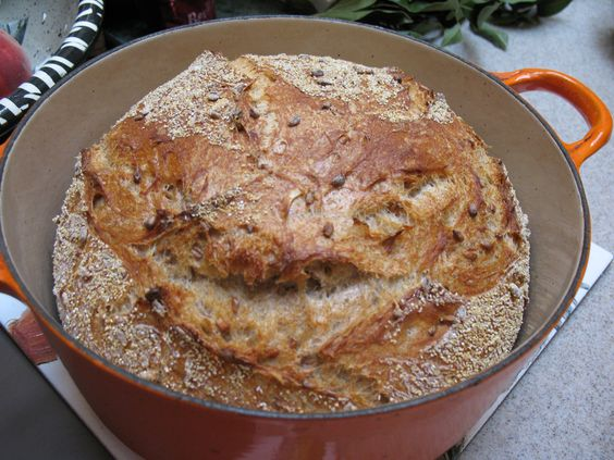 Penni Wisner's Sprouted Wheat Bread Baked in Pot