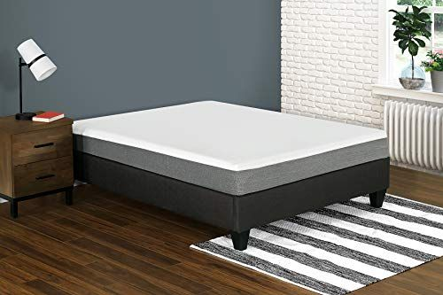 Primo International Lexis 10 Inch Gel Memory Foam Mattress California King White Grey Memory Foam Mattress Queen Memory Foam Mattress Gel Memory Foam