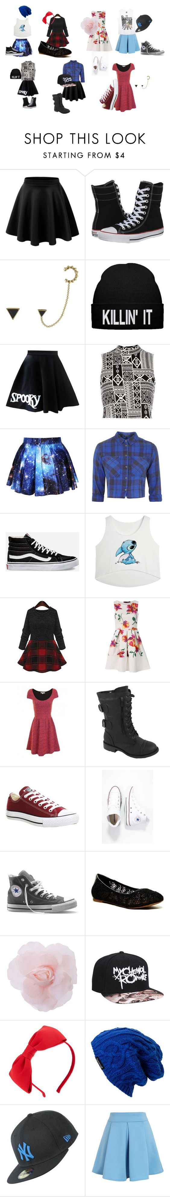 """""""more stuff"""" by because-it-is on Polyvore featuring LE3NO, Converse, House of Harlow 1960, River Island, Topshop, Vans, Top Moda, Lucky Brand, Kate Spade and Spacecraft"""