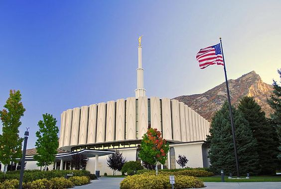Provo Utah LDS Temple Photograph  We love Temples at: www.MormonFavorites.com