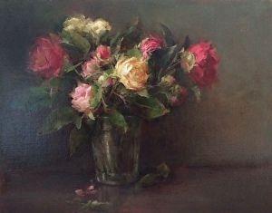 "Primavera by Stephanie Birdsall Oil ~ 11"" x 14"""