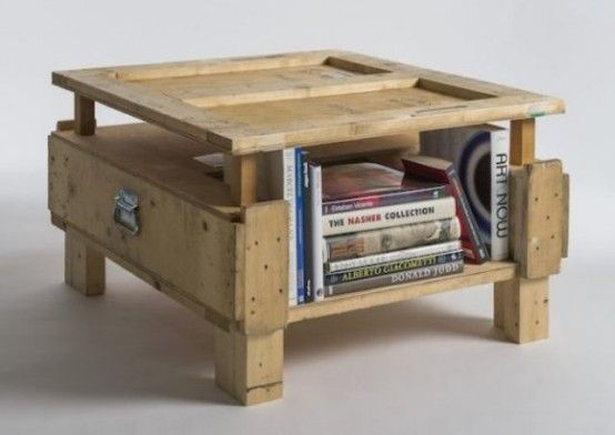 Industrial Furniture Collection Made Of Shipping Crates | DigsDigs