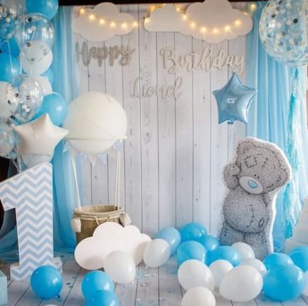 22 Ideas Birthday Ideas For Kids Boys Decorations Baby Shower Decorations Baby Boy Birthday 1st Birthday Decorations