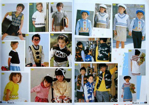 【转载】手工坊--儿童毛衣 (3-5岁) - choiyoba的日志 - 网易博客