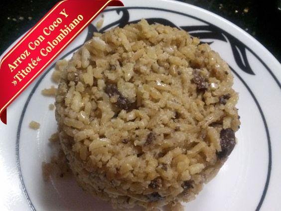 Arroz Con Coco http://quecocinar.info/arroz-con-coco-colombiano-receta-para-hacer-arroz-coco/