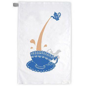 Afternoon tea tea towel