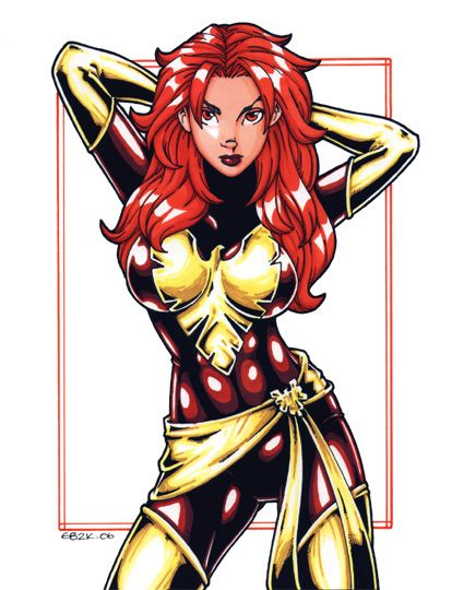 Marvel's Jean Grey(Dark Phoenix) of X-Men