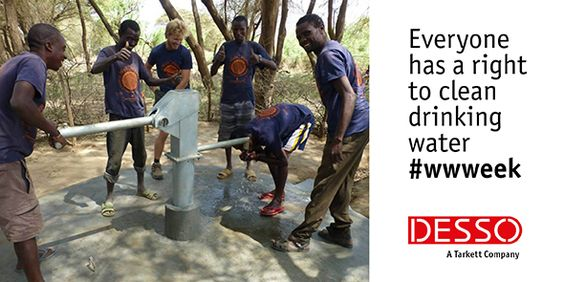 It's World Water Week. We believe everyone has a right to clean drinking water. To help, we've donated a portable drill tower: http://bit.ly/1GkgmdW | #WWWeek