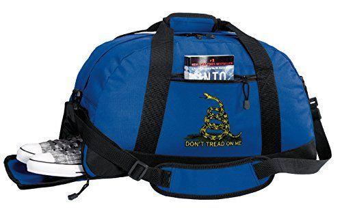 Dont Tread On Me Duffle Bag Tea Party Flag Gym Luggage Duffel Bag