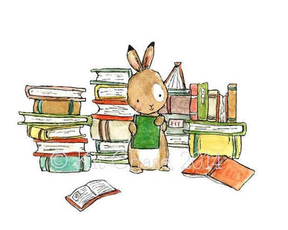 Libro BunnyImprimir archivoArte infantil por trafalgarssquare: