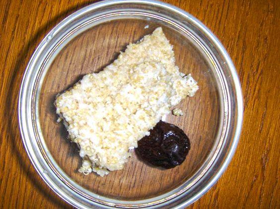Pudim de quinoa e coco