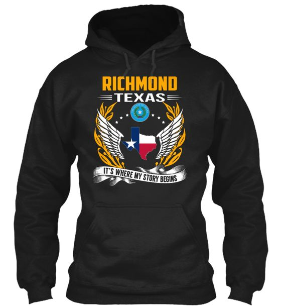Richmond, Texas - My Story Begins