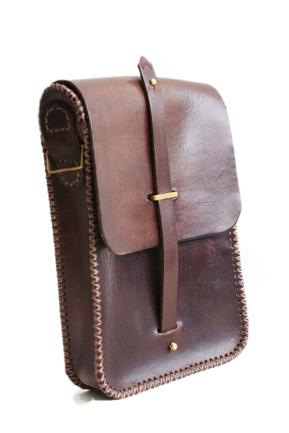 Steampunk leather belt bag 1 by AmbassadorMann.deviantart.com on @deviantART