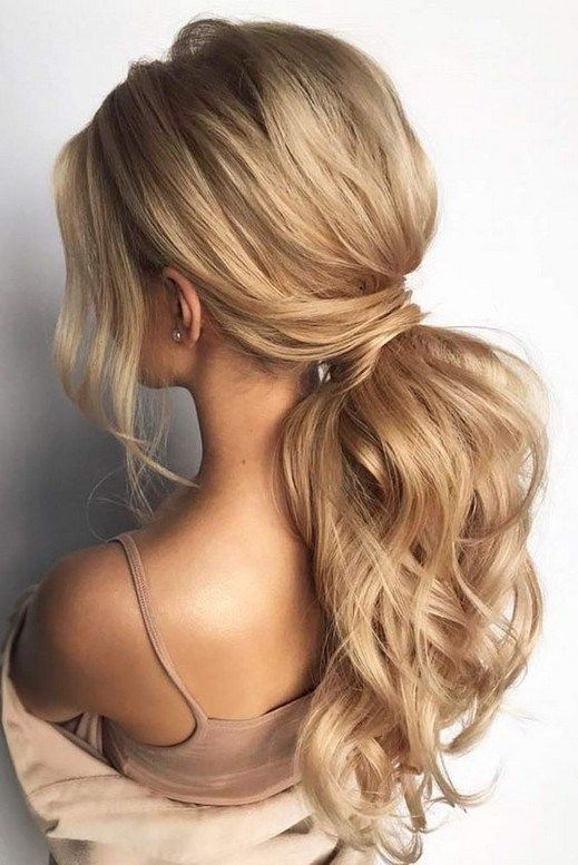Prom Hairstyles Half Up Half Down Ideas Promhairstyle Hairstyleideas Hairstyleforwoman Out Of D Low Ponytail Hairstyles Tail Hairstyle Ponytail Hairstyles