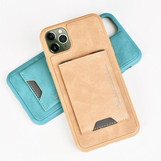 iPhone 12 Pro Max LEATHER BACK Case