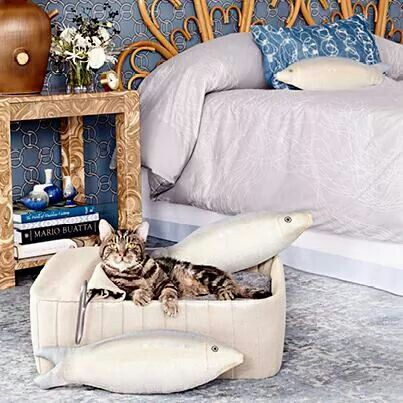 One of a kind cat beds!